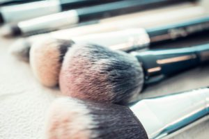 Going Green make-up brushes