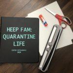 Living History: Sharing Family Quarantine Journal Ideas