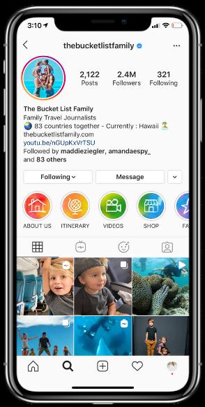 Thebucketlistfamily Instagram