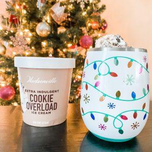 Hudsonville Ice Cream and Christmas Tree