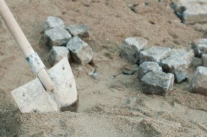 dig deep with a shovel and you find rock