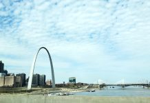 STL Arch and Downtown St. Louis