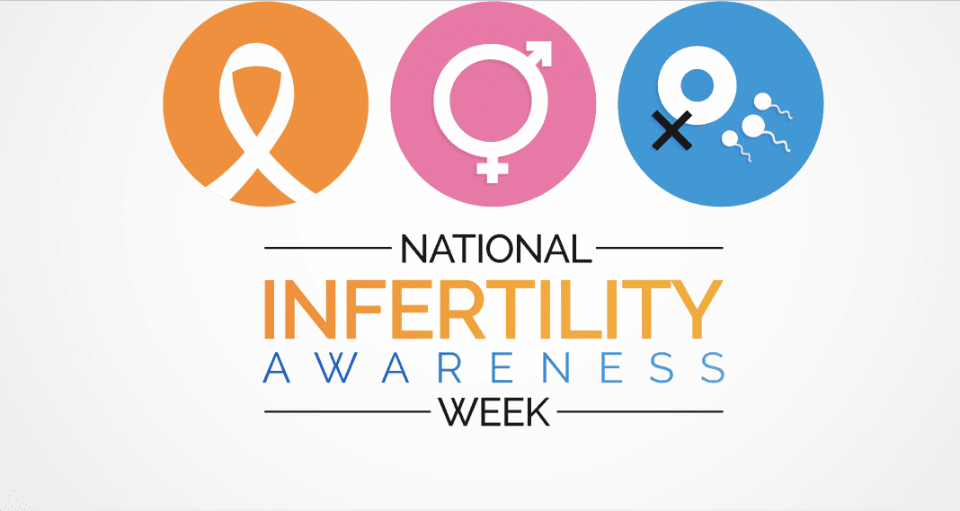 A National Infertility Awareness Week logo
