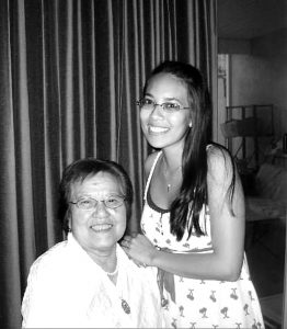My grandmother, Umeyo, was born and raised in Japan