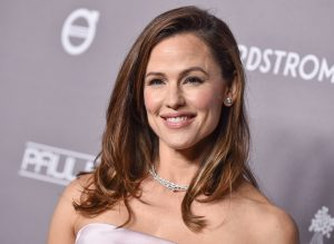 Jennifer Garner, star of the movie, Yes Day, posing at an event.