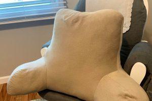 a backrest pillow