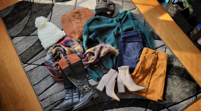 Sweaters, boots, and hats for Fall!