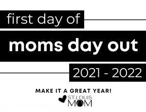 First Day of School - Moms Day Out B+W